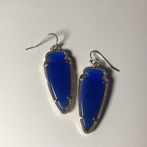 Royal blue Skylar Kendra Scott Earrings